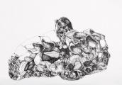 Denisa Mikulíková | kresba perem